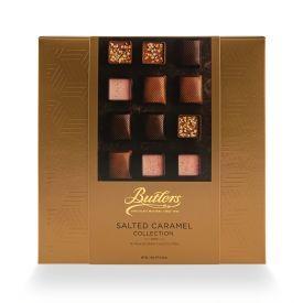 Šokoladinių saldainių rinkinys su sūdyta karamele BUTLERS Café Collection, 240 g