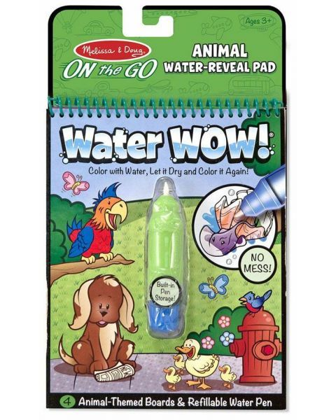"Spalvinimo vandeniu rinkinys MELISSA & DOUG ""Animals"", 1 vnt."