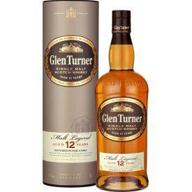 Viskis GLEN TURNER 12YO Single Malt Highland 40% 0,7l