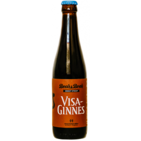 "Alus ""Visa-Ginnes"" BEAR&BOAR  Sweet Stout, 330ml"