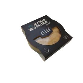 Mažai sūdytų laukinių Aliaskos lašišų filė KAIGO konservai, 160g