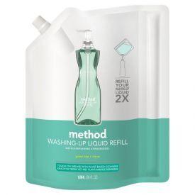 Žaliosios arbatos ir citrusų kvapo indų ploviklio papildymas METHOD, 1.064 L