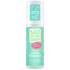 Natūralus purškiamas dezodorantas SALT OF THE EARTH su melionais ir agurkais, 100 ml