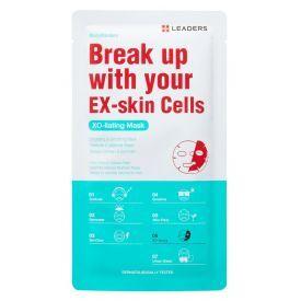 Eksfolijuojanti veido kaukė LEADERS EX-Skin Cells (25 ml), 1 vnt.