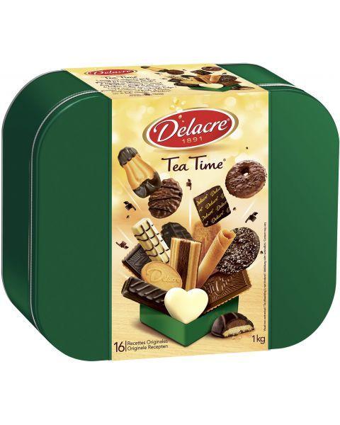 Sausainių rinkinys DELACRE Tea time, 1 kg