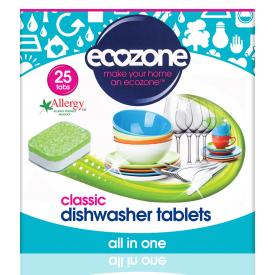 Indaplovių tabletės ECOZONE Classic, 25 vnt.