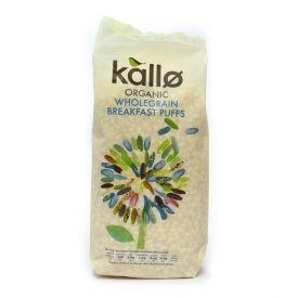 Ekologiški pūsti rudieji ryžiai KALLO, 225 g