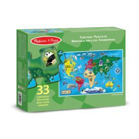 "Dėlionė MELISSA & DOUG "" World Map"", 1 vnt."