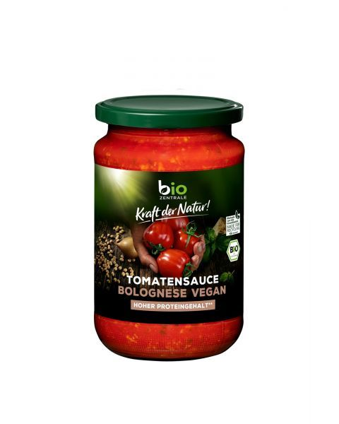 "Ekologiškas pomidorų padažas ""Bolognese"" BIOZENTRALE , 350 g"