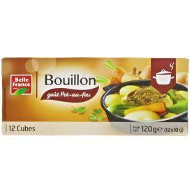 """Prancūziško troškinio """"Pot-au-feu"""" sultinio kubeliai BELLE FRANCE, 120 g"""