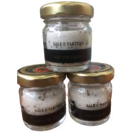 Druska su juodaisiais vasariniais trumais BOSCO D'ORO, 30 g