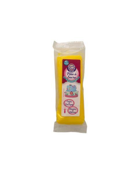 Cukraus masė dekoravimui SAINTE LUCIE, geltonos spalvos, 100 g