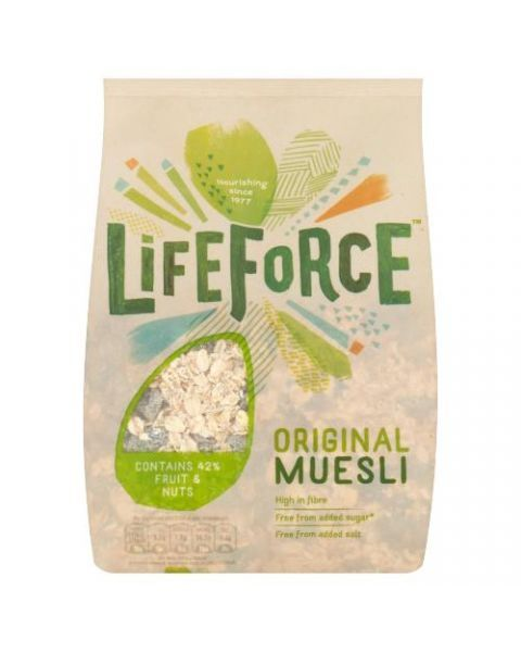"""Airiški sausi pusryčiai LIFEFORCE """"Original"""", 750 g"""
