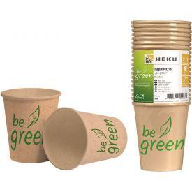 Popieriniai puodeliai HEKU, 0,2 L, 20 vnt