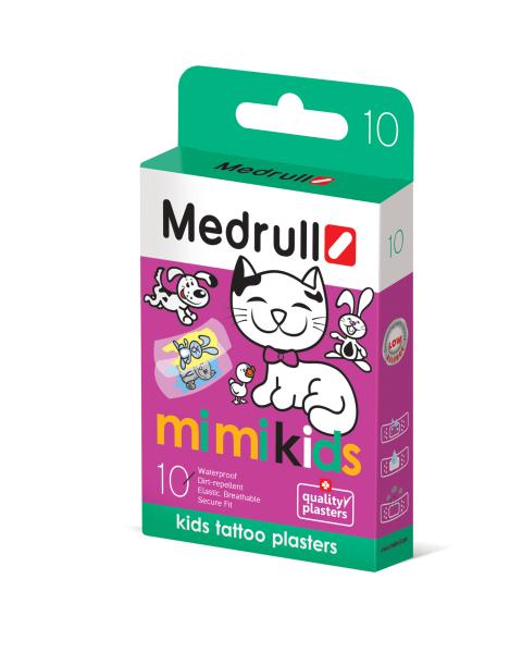 Vaikiškas pleistras MEDRULL Mimi Kids kūdikiams nuo 3 mėn., 10 vnt.