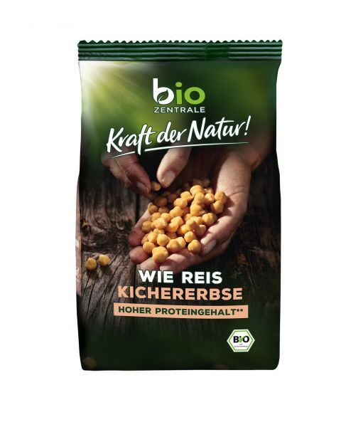Ekologiški avinžirnių miltų ryžiai BIOZENTRALE, 280 g