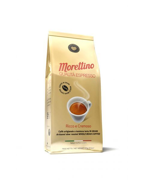 Kavos pupelės MORETTINO Qualita Espresso, 500g