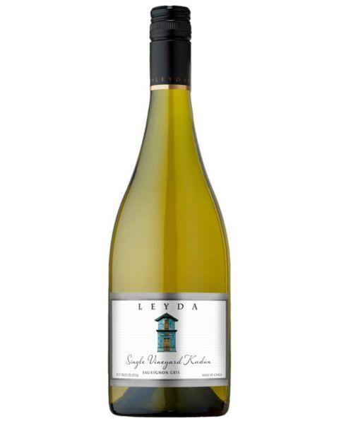 Baltas sausas vynas LEYDA Single Vineyard Kadun Sauvignon Gris 14%, 750ml