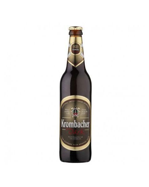 "Tamsusis alus ""Krombacher Dark"" 4,7% butelis 0,5L"