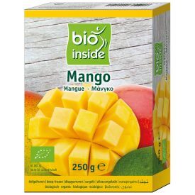 Šaldytu mangų gabaliukai BIO INSIDE, ekologiški, 250g