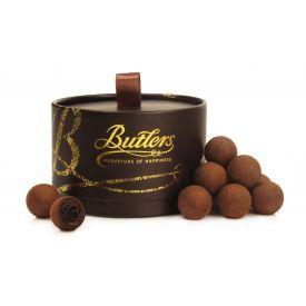 """Juodojo, 70% šokolado triufelių rinkinys BUTLERS """"Truffle Powder Puff"""", 200 g"""