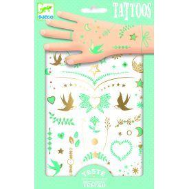Tatuiruotės vaikams DJECO Lily's Jewels (DJ09593)