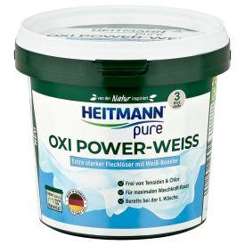 Dėmių išėmiklis - baliklis baltiems audiniams, Heitmann 500 g