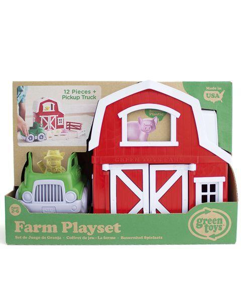 """Žaislų rinkinys """"Ferma"""" GREEN TOYS ™ (13 dalių), 1 vnt. 2"""