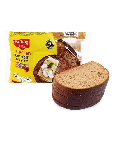 Raikyta tamsi tradicinė duona SCHAR Surgesbrod be gliuteno, 240g