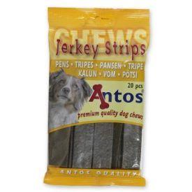 Plokštelės su žarnokais šunims Jerkey Stris Tripe, 20 vnt