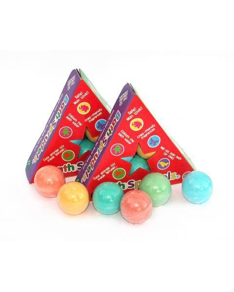 6 burbulų su žaisliukais pakuotė BEAN PEOPLE, 1 vnt.