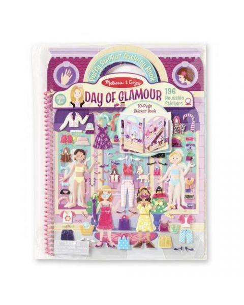 "Albumas su lipdukais MELISSA & DOUG ""Day of Glamour"", 1 vnt."