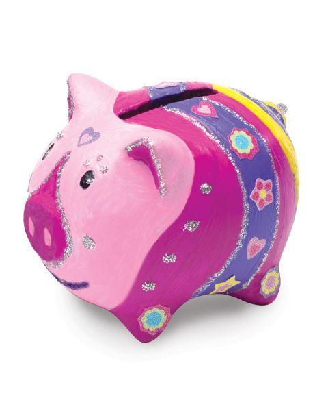 "Taupyklės dekoravimo rinkinys MELISSA & DOUG ""Piggy"", 1 vnt. 3"