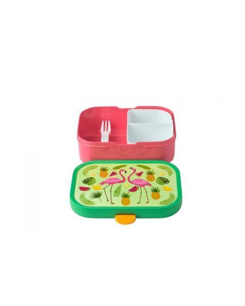 """Vaikiškas rinkinys dėžutė ir gertuvė MEPAL Campus """"Tropical flamingo"""", 1 vnt. 3"""