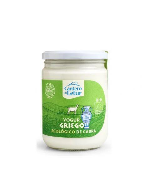 Graikiškas ožkų pieno jogurtas CANTERO DE LETUR, ekologiškas, 9% rieb., 420g