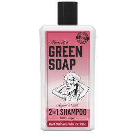 Šampūnas MARCELS GREEN SOAP su arganu ir ūdu, 500 ml