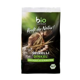 Ekologiški speltų makaronai BIOZENTRALE spiralės, 250 g