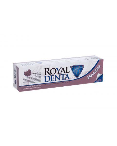 Dantų pasta jautriems dantims ROYAL DENTA su sidabru ir Q10, 130 g