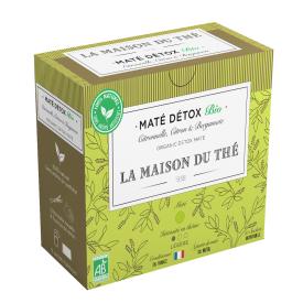 Detoksikuojanti ekologiška arbata LA MAISON DU THE Detox Mate, 15 maišelių
