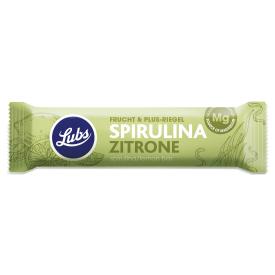 Ekologiškas spirulinų ir citrinų vaisinis batonėlis LUBS, 40 g