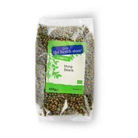 Ekologiškos Mung pupelės THS ORGANIC, 500 g