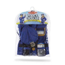 Policijos pareigūno kostiumas ir aksesuarai MELISSA & DOUG, 1 vnt.