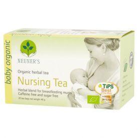 Ekologiška arbata žindančioms mamytėms NEUNER'S, 20 pak., 40 g