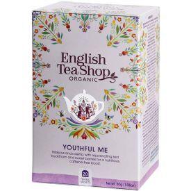 Ekologiška arbata ENGLISH TEA SHOP Youthful me, 20 maišelių