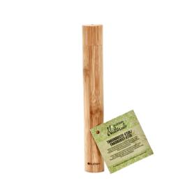 Bambukinė dėžutė dantų šepetėliui SUZTAIN, 1 vnt.
