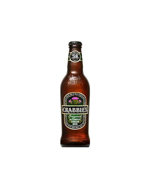 Imbierinis alus Crabbies Ginger beer original 4% 0,33l