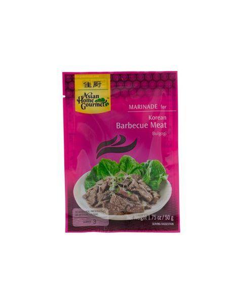 Marinatas korėjietiškai BULGOGI mėsai ASIAN HOME GOURMET  50g