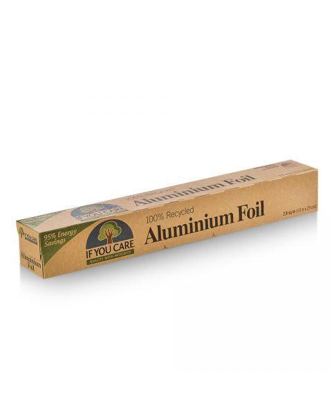 Perdirbama aliuminio folija IF YOU CARE, 48 vnt.