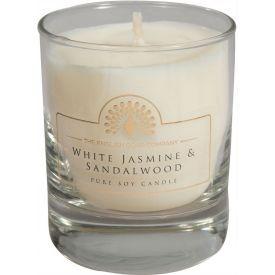 Žvakė dovanoms WHITE JASMINE & SANDALWOOD, English Soap, 1 vnt.