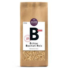 "Ekologiški ""Basmati"" rudieji ryžiai ANTERSDORFER, 500 g"